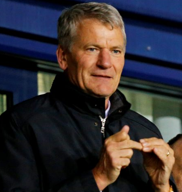 David Gill: Photo: Andrew Yates/Reuters