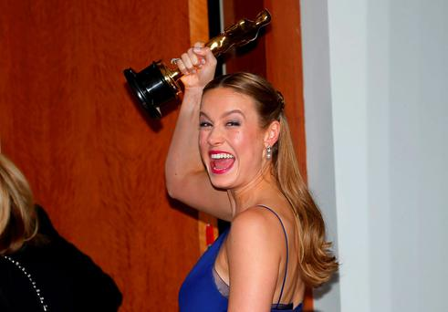 Best Actress winner Brie Larson, for her role in