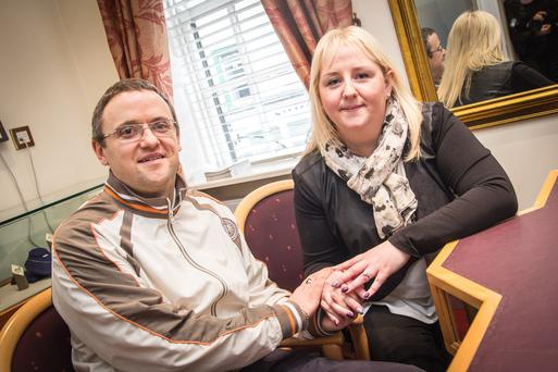 Valerie Sheehan proposed to her boyfriend of six years on KCLR Radio this morning. Photo Credit: KCLR