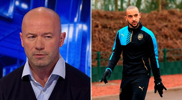 Alan Shearer had some harsh words for Theo Walcott