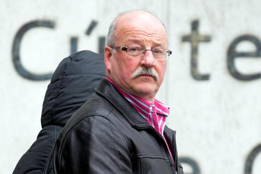 George McKelvey (57), who is originally from Dundee in Scotland, leaving court Pic: Courtpix