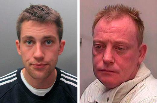 Robert Gilbert-Smith (left), who pleaded guilty to his part in the conspiracy and has already served a sentence of imprisonment; and Terence McNamara (right), who liaised with a thief sent into Durham's Oriental Museum to steal a Ming dynasty sculpture - pleaded guilty at the start of the final trial Credit: Durham Police/PA Wire