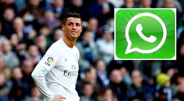 Cristiano Ronaldo has apologised to his team mates on whatsapp