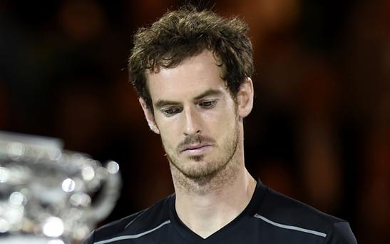 Andy Murray says he misses his family while away training for long hours