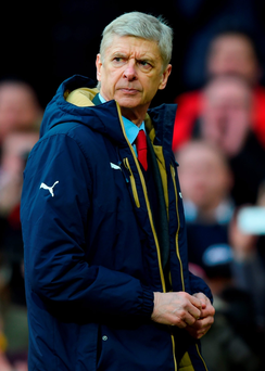 Wenger: Raised expectations Photo: Shaun Botterill/Getty Images