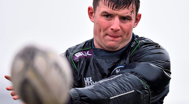 Connacht's Eoghan Masterson during squad training. Photo: David Maher / Sportsfile