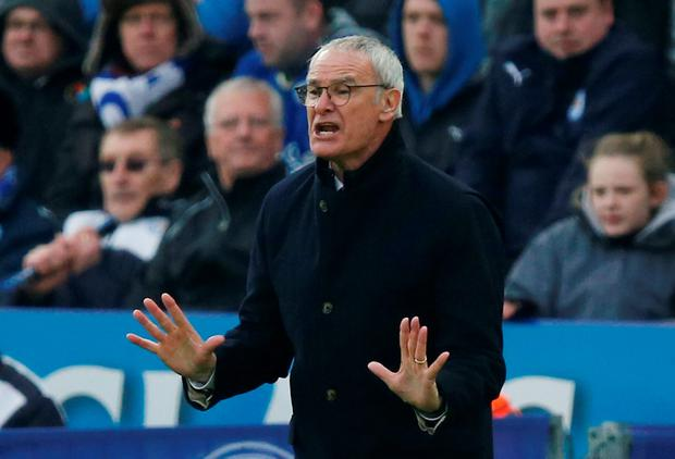 Claudio Ranieri does not think Leicester are favourites for the title. Photo: Andrew Yates/Reuters