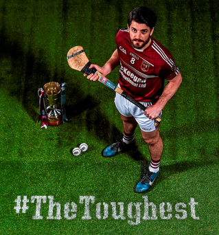 Cushendall's Shane McNaughton is ready to face Na Piarsaigh Photo: Ramsey Cardy / Sportsfile