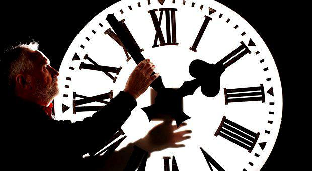 Clocks are altered by an hour twice a year in Britain