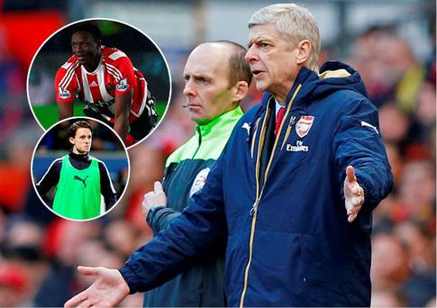 Arsene Wenger may go for Wanyama and Ben Chilwell
