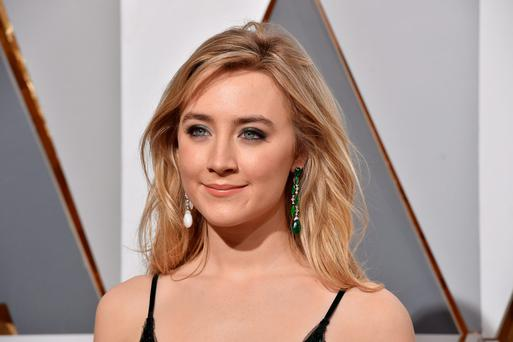 Actress Saoirse Ronan attends the 88th Annual Academy Awards at Hollywood & Highland Center on February 28, 2016 in Hollywood, California. (Photo by Kevork Djansezian/Getty Images)