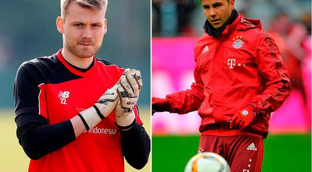 Simon Mignolet could be on his way out of Liverpool and Mario Gotze could be coming in