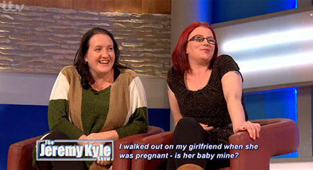 Nicola and Lisa on The Jeremy Kyle Show