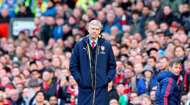Wenger will be just a month short of his 67th birthday when the 20th anniversary comes around: Martin Rickett/PA Wire