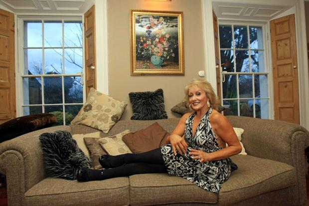 Adele King in her home in 2008