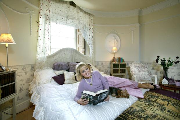Adele King in her bedroom in 2005