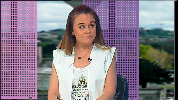 Midday on TV3 - Joanne McNally.