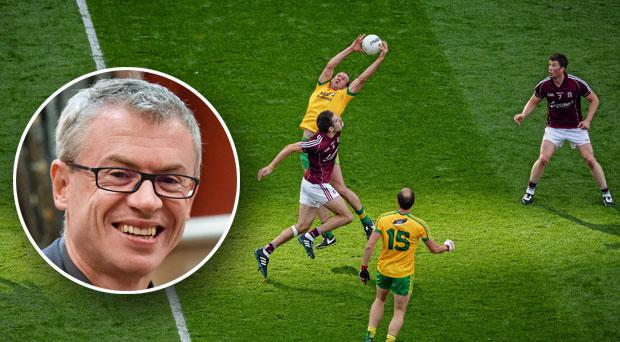 Joe Brolly is clearly not a fan of the introduction of a mark in gaelic football