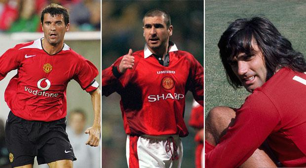 Roy Keane and George Best were included in Eric Cantona's all-time dream XI