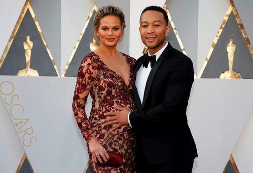Choice: Chrissy Teigen and John Legend are expecting a baby girl after using a genetic screening treatment along with IVF