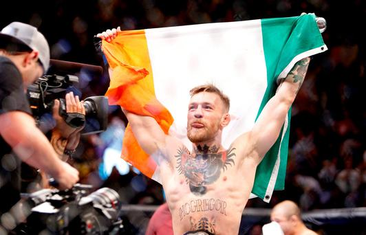 'I hope it goes longer than the Jose (Aldo) fight,' says Conor McGregor who took just 13 seconds to knock out the Brazilian (Steve Marcus/Getty Images)
