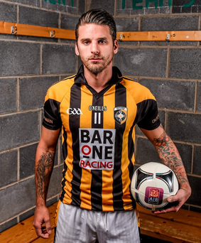 David Bentley sporting the Crossmaglen jersey Photo: Sportsfile