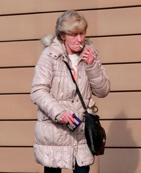 Patricia Sweeney pictured outside Blanchardstown Court.