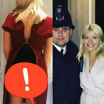 Holly Willoughby revealed embarrassing moment her dress split at 10 Downing Street. Photo: Holly Willoughby Instagram.