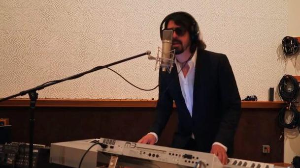 Dave Grohl pursuing a career in electronic dance music...