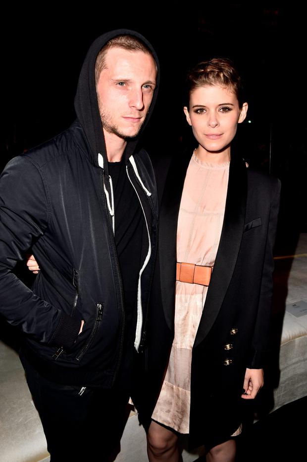 PARIS, FRANCE - MARCH 02: Jamie Bell and Kate Mara attend the H&M show as part of the Paris Fashion Week Womenswear Fall/Winter 2016/2017 on March 2, 2016 in Paris, France. (Photo by Pascal Le Segretain/Getty Images)