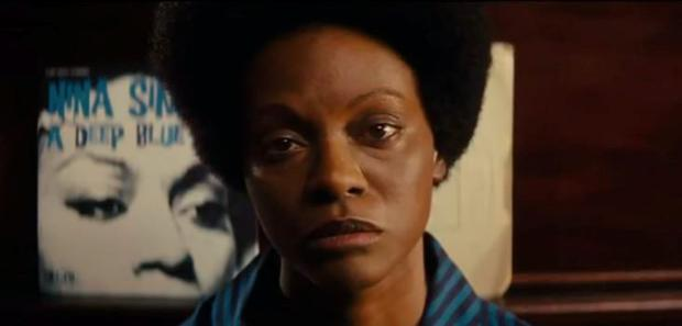 Zoe Saldana as Nina Simone in 'Nina'