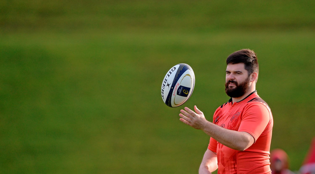Munster's Kevin O'Byrne has been awarded a new contract. Picture credit: Seb Daly / Sportsfile