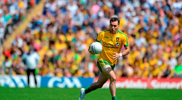 Donegal's Karl Lacey. Picture credit: Dáire Brennan / Sportsfile