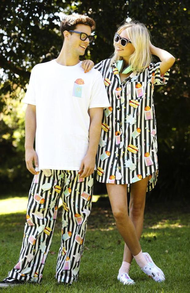 McDonald's launched a BrekkieWear range in Australia