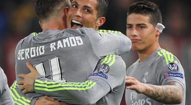 There were reports that Cristiano Ronaldo and Sergio Ramos handed in transfer requests after last weekend's defeat to Atletico Madrid
