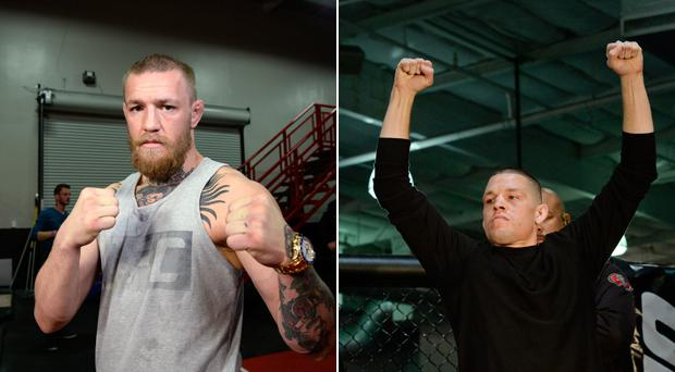 Conor McGregor faces Nate Diaz in Las Vegas tomorrow night