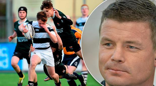 Brian O'Driscoll believes it is incredulous that rugby is on the curriculum in some schools