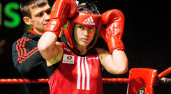 'Katie's past has been grounded in routine and her family' Photo: Sportsfile