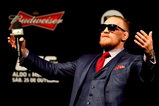 Conor McGregor in 2016