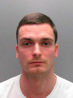 Former Sunderland soccer player Adam Johnson is seen in this undated handout photograph released by Durham Constabulary in Britain on March 2, 2016. Photo: Reuters