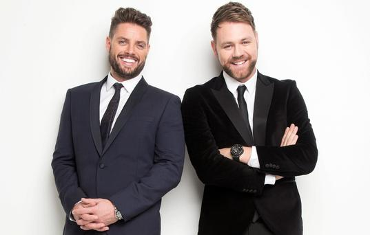 Keith Duffy and Brian McFadden have formed Boyzlife