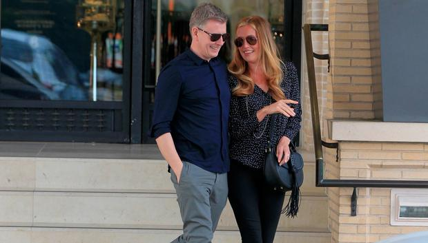 Cat Deeley and Patrick Kielty are seen on March 04, 2016 in Los Angeles, California. (Photo by Bauer-Griffin/GC Images)