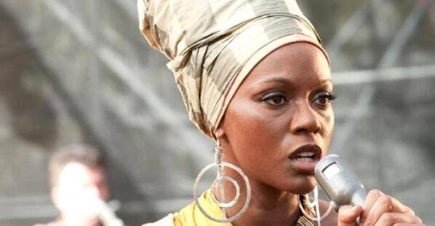Zoe Saldana in the Nina Simone biopic