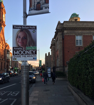 This poster was seen in Rathmines this evening. Photo: Matt Cooper/ @cooper_m
