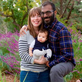 Meditations on mortality: Neurosurgeon Paul Kalanithi with his wife Lucy and their child Cady born months before his death.