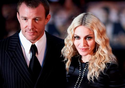 Guy Ritchie and ex-wife Madonna back in 2008 Photo: Stephen Hird/Reuters