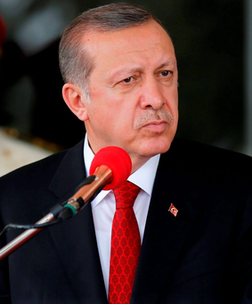 Turkish President Tayyip Erdogan Photo: Reuters/Afolabi Sotunde