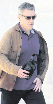 Kingpin: Christy Kinahan is now the leading figure in the Irish drugs trade. His gang is in a feud with Gerry 'The Monk' Hutch