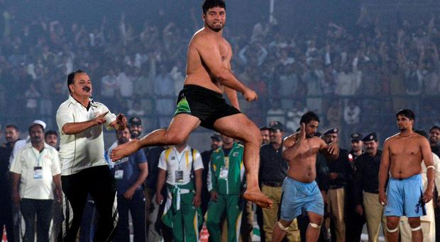 'I suppose I hadn't thought of kabaddi in 30-odd years until I chanced upon it while flicking through Sky the other night' Photo: AFP/Getty