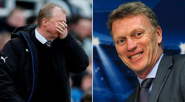 David Moyes could be about to replace Steve McClaren as Newcastle boss
